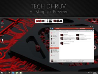Amd-Ati Skin Pack Preview by TheDhruv