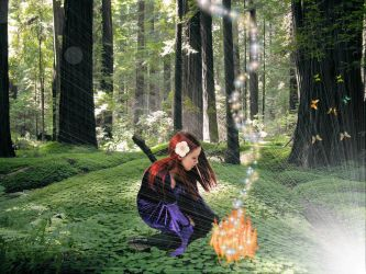 Forest Magic by missiriswolfe