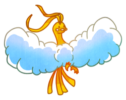 Shiny Altaria by Blubble-The-Blubs