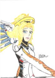 Original Mercy Portrait by negriwtf. by negriwtf