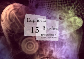 15 Euphoric Brushes by kanonliv