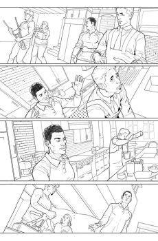 Hulk issue 07 page 12c by GeorgesDuarte by GEORGESdc