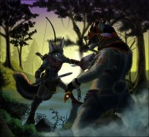 Battle at Dawn by FuzzleMint
