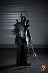 Sauron Cosplay (The Lord of the Rings) by CaptainGhostly