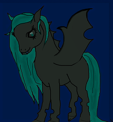 tried to draw pony by The-Apparition