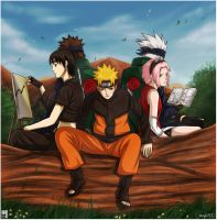 the naruto team by sbel02