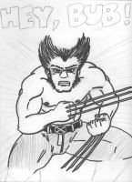 Wolverine Pencils and Pen by davew