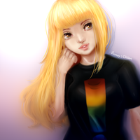 Dolly Blondie by Rumay-Chian