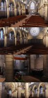 Church Game Environment UDK 2 by amaterasu111