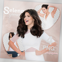 PNG PACK (71) Selena Gomez by iliveforApplause
