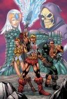 Masters of the Universe Colors by seanforney