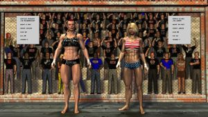 MMA Cagefight by plinius