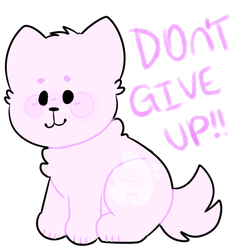 motivational pupper by skeleshibe