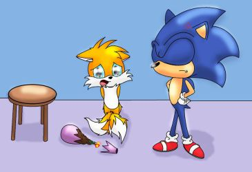I'm REALLY sorry Sonic... by Silvernazo