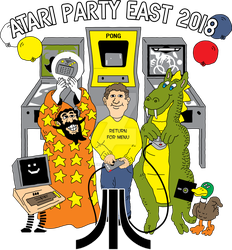 Atari Party East 2018 by doncroswhite