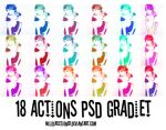 Actions PSD Gradiet by MiliDirectionerJB