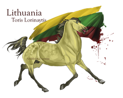 Horse Hetalia: Lithuania by MUSONART