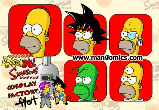 Simpsons Cosplay Factory by TetraGyom