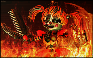 C4d | The Circus is going down in Fire! [Poster] by Smiley-Facade