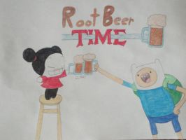 Root Beer Time by rabbidlover01