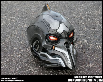Halo 4 Didact Helmet Paintjob Finished by JohnsonArmsProps