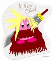 Kirby Cloud Colored by MercedesCorvette