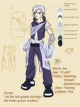 Character design: Ice by Tanize