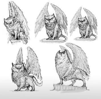 Miniature rough concepts by AlexBoca