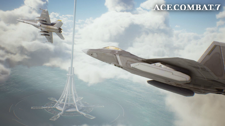 Ace Combat 7 - Lighthouse Wallpaper by Azekthi