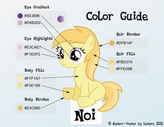 Noi Color Guide by Lumorn