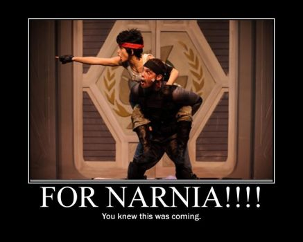 For Narnia by thebearlylovable