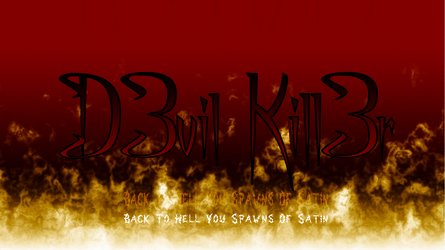 D3vil Kill3r Wallpaper by Ymeisnot