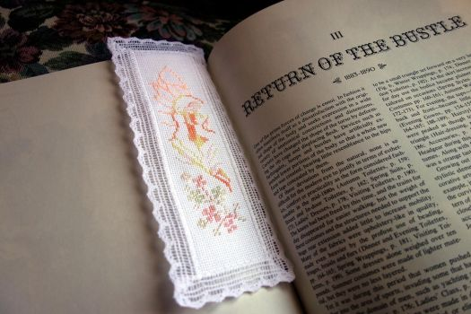 Spring Warmth Fairy Bookmark by pinkythepink