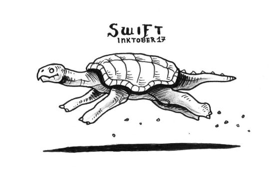 1 Swift - Inktober 2017 by Orboroth