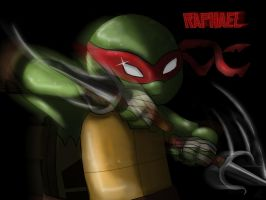 TMNT: Raphael by AnimeWaterFall