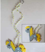 Derpy Hooves Bead Sprite Necklace by Hermine456