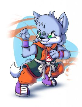 Wolf Fang Fist! by Unolup