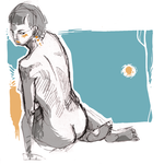 08 life drawing by vollmondgrinsekatze