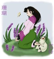 Sango And Kirara by FavouriteKitten