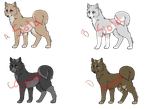 Adoptables 1 by MysticDivinity