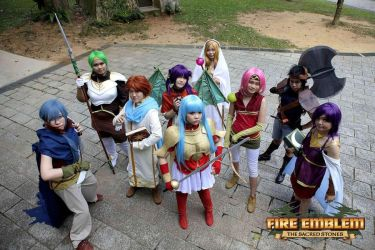 Fire Emblem: The Sacred Stones Group Cosplay by inkstainedpapers