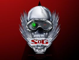 SOG Skull Logo by Red-Rogers