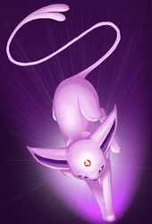 Espeon Leap by Mewitti