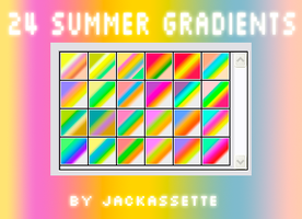 Summery Gradients by Jackassette