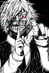 Tokyo Ghoul by MidnightZone