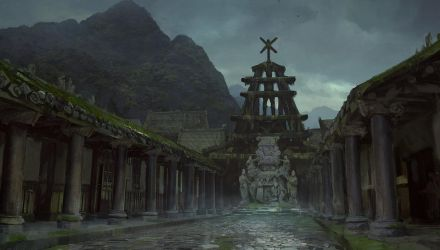 The Blackwood Temple by merl1ncz