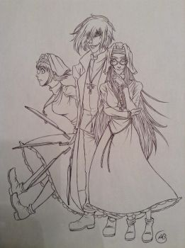 The Hellsing Iscariots by Demon-Lord-Nikolai