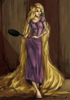 Tangled - Rapunzel by CamiiW