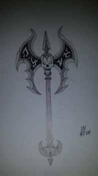 weapon from wow dont remamber the name by FFF13