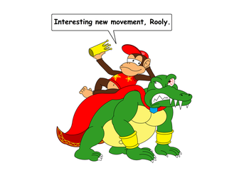 King K. Rool's new movement by DarkDiddyKong